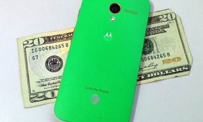 The Moto X off contract price is a win over Apple.