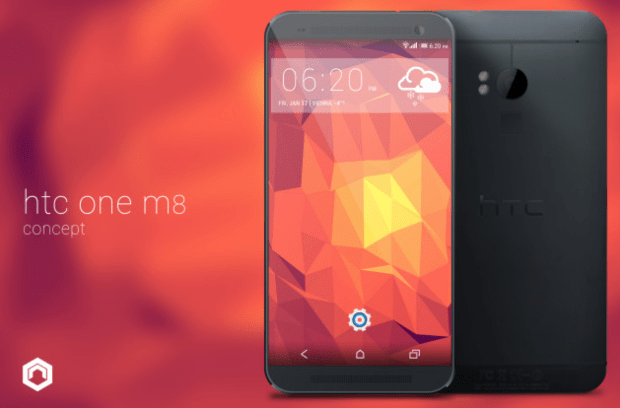 HTC One 2014 Concept