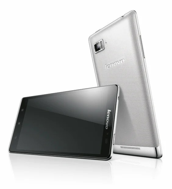 The Lenovo Vibe Z is the company's first 4G LTE smartphone.