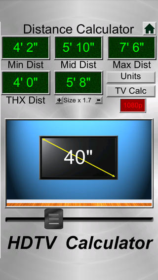 hdtv calculator