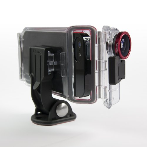 This Waterproof case turns your iPhone into a GoPro style camera.