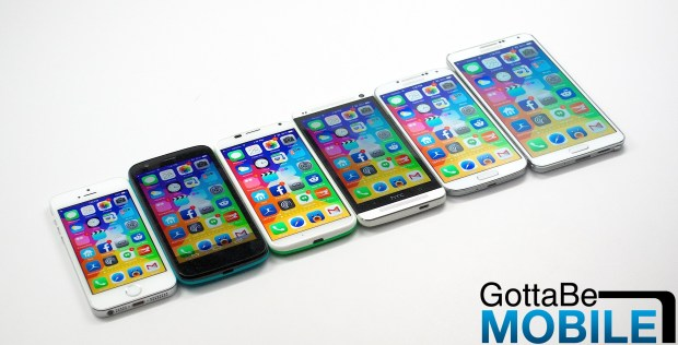 We could soon see a new iOS 8 on a variety of screen sizes.