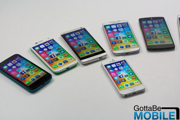iPhone 6 screen size comparison -  011