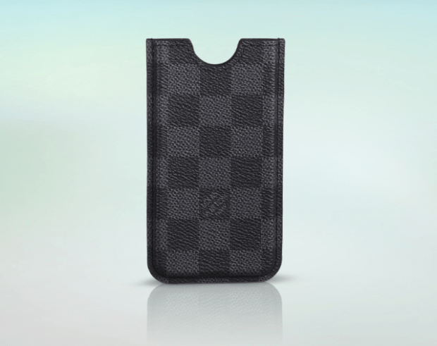 Louis Vuitton aims this expensive iPhone 5 case at men.