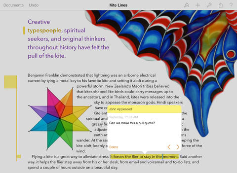 pages on ipad