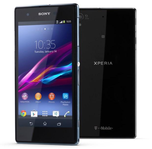 Sony's Xperia Z1S.
