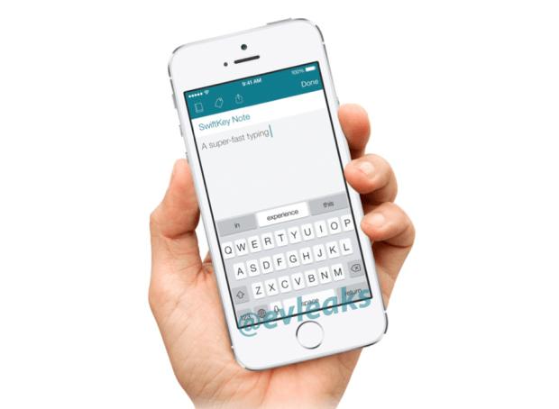 SwiftKey iOS app