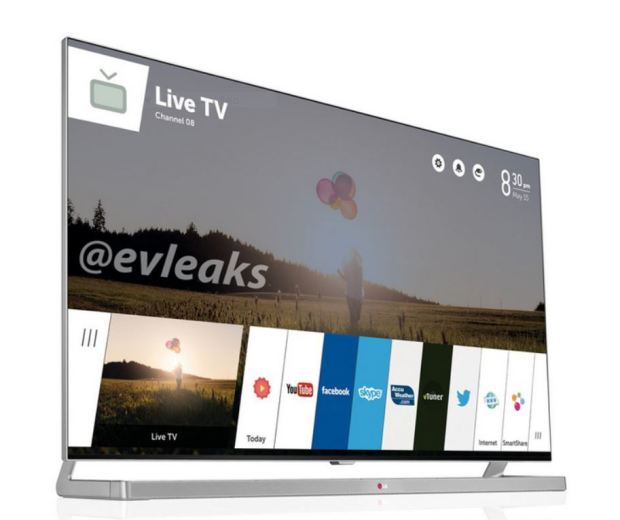 This Is The WebOS TV By LG