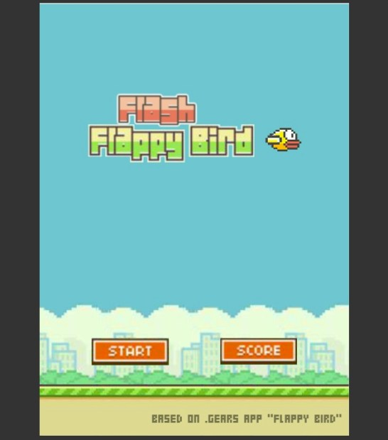 Flappy Bird Flash brings the original gameplay to the web.