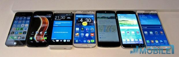 Galaxy S5 Display Comparison