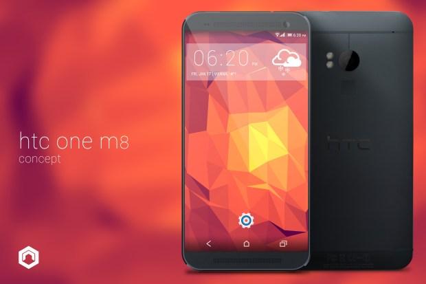 HTC M8 Concept