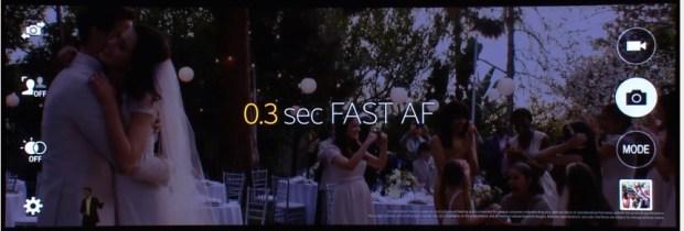Galaxy S5 auto focus