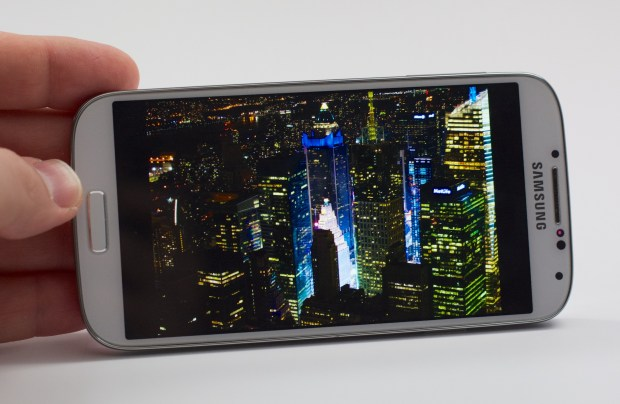 The Galaxy S5 will likely feature a new higher resolution display.
