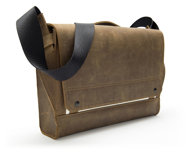 WaterField Designs Offers Rough Rider Leather Messenger Bag