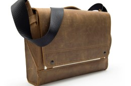 Rough Rider Leather Messenger Bag