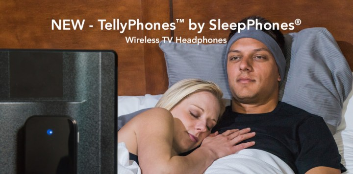 Listen to your TV in bed.