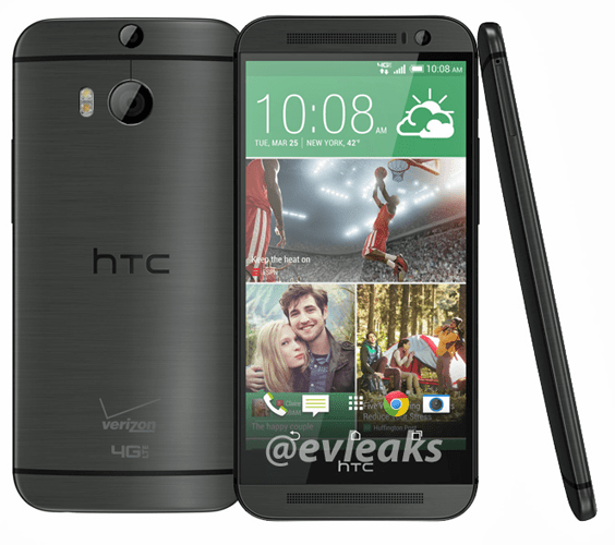 All New HTC One for Verizon Confirmed by FCC and Leaked Photo