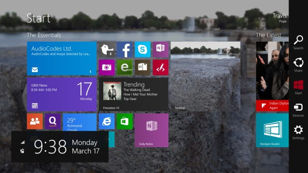 How to Add More Space for Live Tiles in Windows 8 (2)