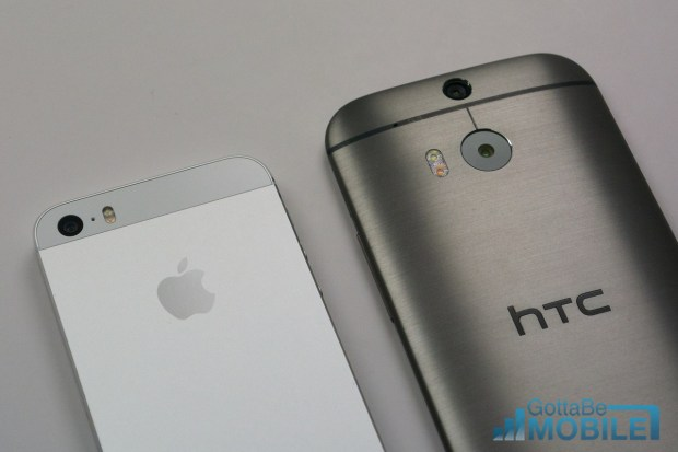 Both the iPhone 5s and new HTC One are good smartphones, but a bigger screen is a defining feature for many users.