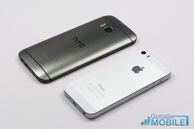 The HTC One offers a design with more metal.