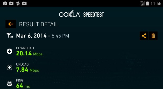 In good coverage expect amazing speeds.