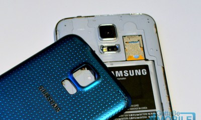 The Galaxy S5 beats the Galaxy S4 on available storage, and both include a Micro SD card slot.