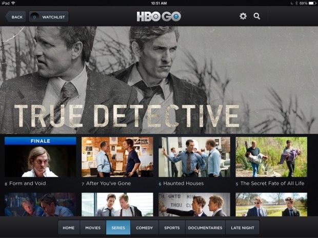 The True Detective finale broke HBOGo.