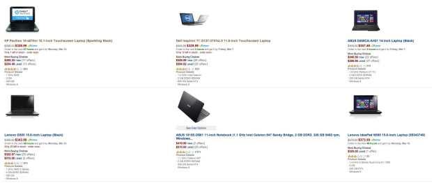 amazon laptops under 350