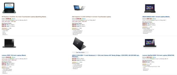 amazon laptops under 350