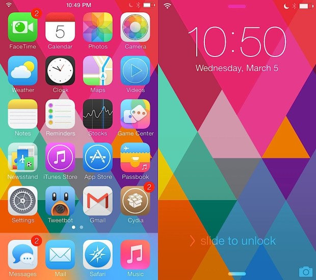 Best Ios 7 Themes For Iphone Cydia Themes For Winterboard
