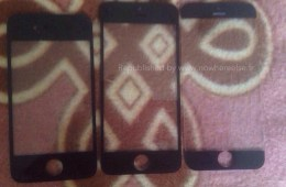The iPhone 6 may feature a larger bezel-free display according to this photo, but it is still questionable.