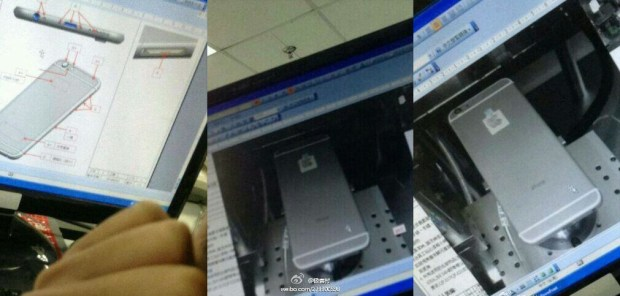 Three possible iPhone 6 photos arrive from China.