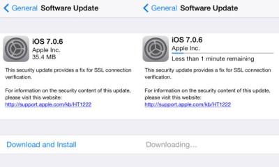 iOS 7.0.6 Update