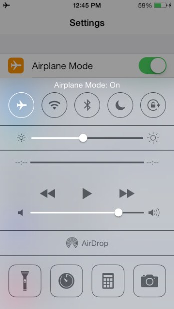 Use Airplane mode if desperate for iOS 7.1 battery life.