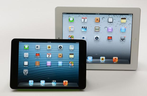 iPad 4 vs iPad mini Retina
