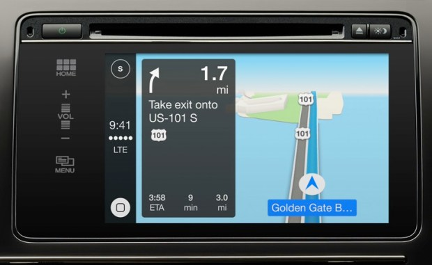 carplay navigation
