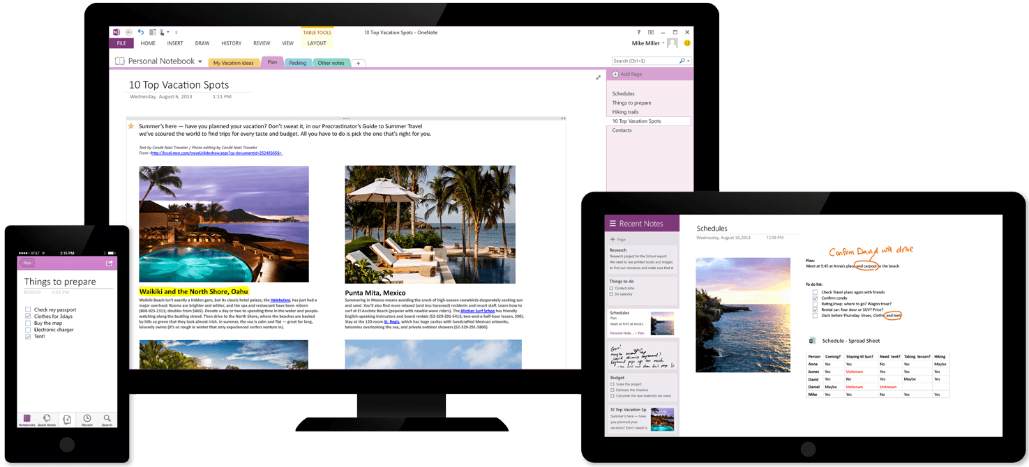 Microsoft Brings OneNote to the Mac, Makes All Versions Free