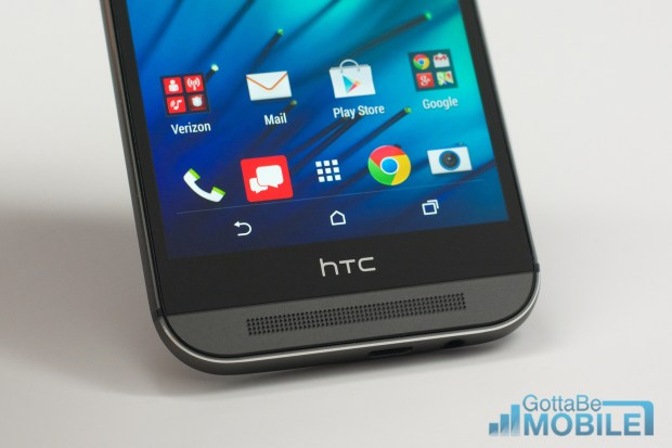 Change the dock shortcuts to also change your lock screen shortcuts on the HTC One M8.