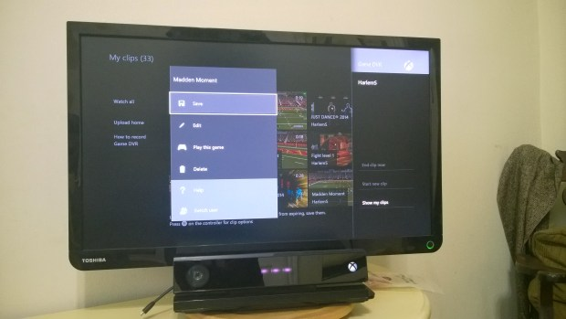 How to Share Xbox One Game Clips to YouTube (2)