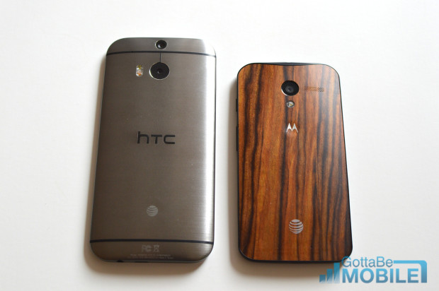 One M8 vs Moto X
