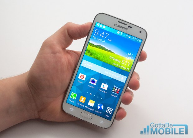 samsung galaxy s5 screenshot instructions