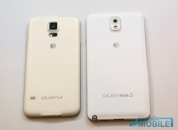 Samsung Galaxy S5 vs Galaxy Note 3 -  006-X2