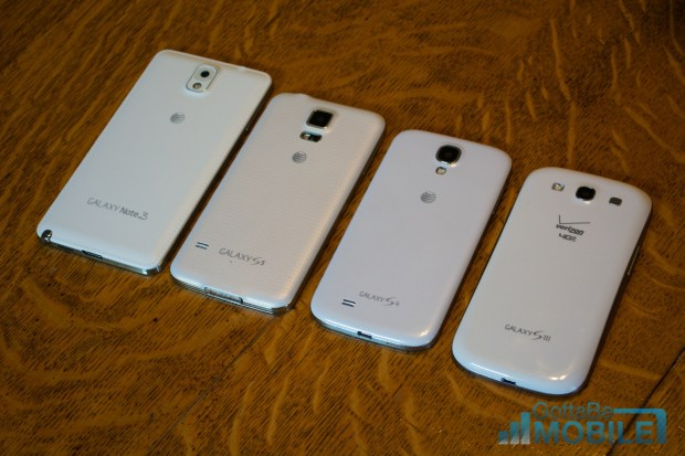 Samsung Galaxy S5 vs Galaxy S4 vs Galaxy S3 - Features