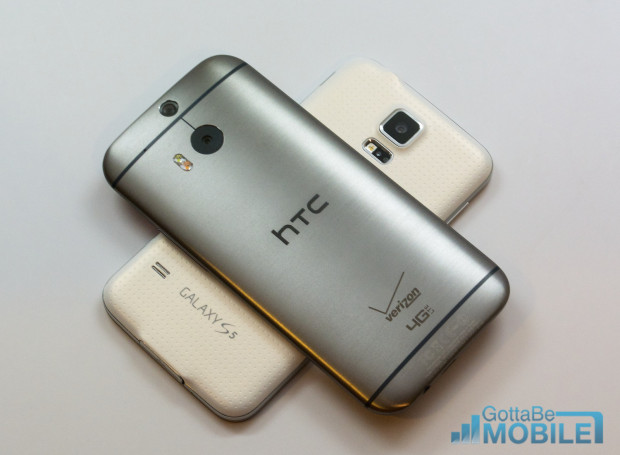Samsung Galaxy S5 vs HTC One M8 - Hero