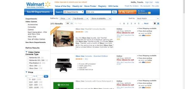 Xbox One Deals Roundup  -Comparison (1)