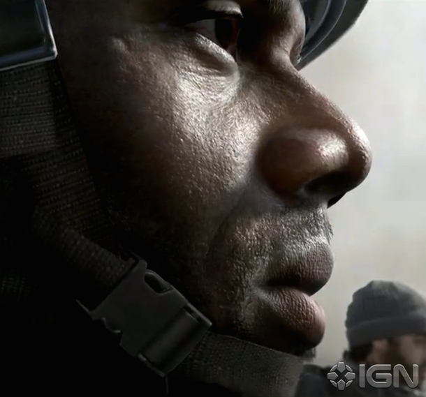 A screenshot of Call of Duty 2014 posted by IGN.