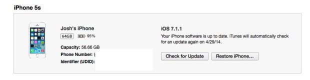 How to find your UDID to register for the iOS 8 beta early.