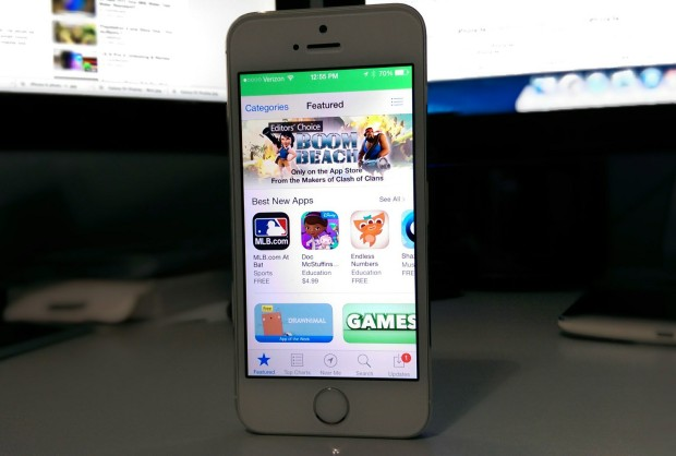 A number of apps come to the iPhone 5s before Android and the Galaxy S5.