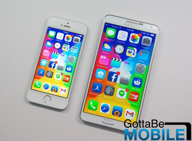 Consumers are excited for a iPhone 6 with a bigger display.
