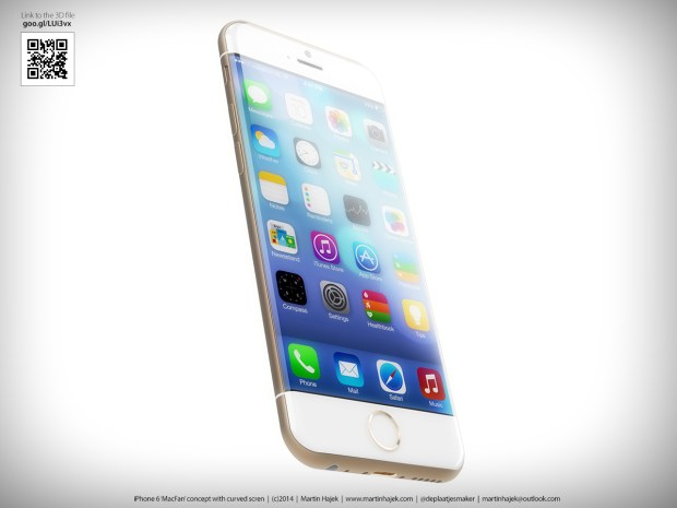 This iPhone 6 concept incorporates the latest iPhone 6 rumors.